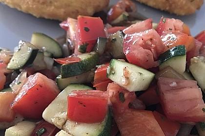 Zucchini - Tomaten - Paprika - Salat 11