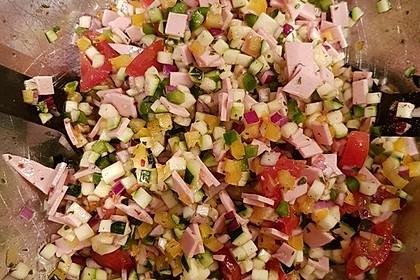 Zucchini - Tomaten - Paprika - Salat 10