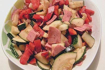 Zucchini - Tomaten - Paprika - Salat 5