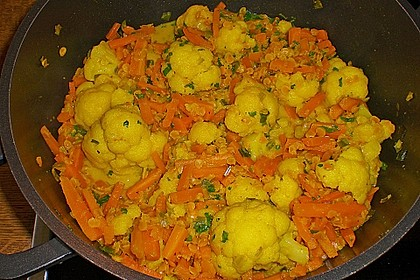 Blumenkohl - Curry 14