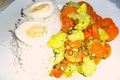Blumenkohl - Curry 20