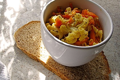 Blumenkohl - Curry 6