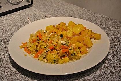 Blumenkohl - Curry 7