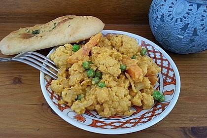 Blumenkohl - Curry 2