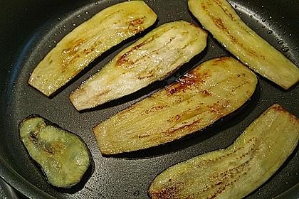 Auberginenröllchen mit Frischkäse 13