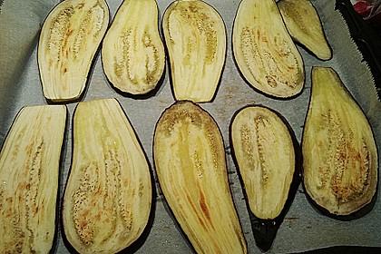 Auberginenröllchen mit Frischkäse 14