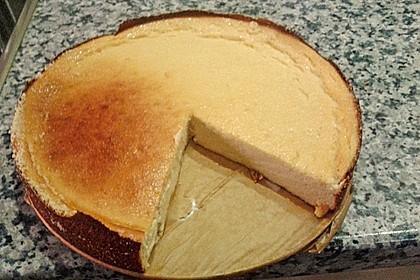 Punktefreundlicher Käsekuchen ohne Boden 3