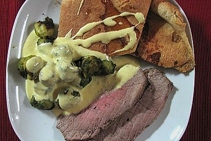 Roastbeef mit Yorkshire Pudding 3