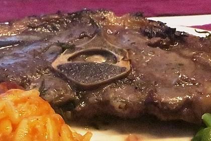 Lammkoteletts in Balsamico - Honig 4