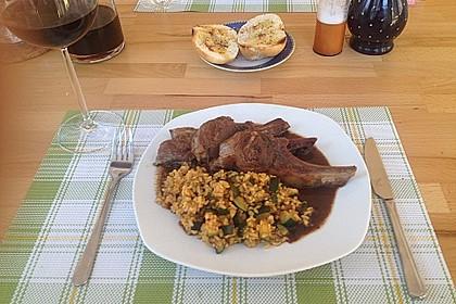 Lammkoteletts in Balsamico - Honig 5