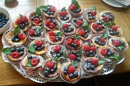 Snickers Käsekuchen Muffins 6