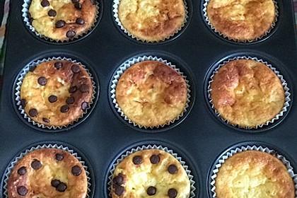 Snickers Käsekuchen Muffins 27