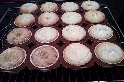 Snickers Käsekuchen Muffins 45
