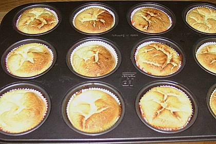 Snickers Käsekuchen Muffins 83