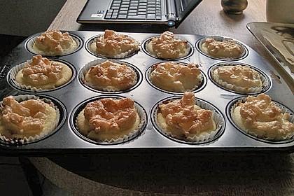 Snickers Käsekuchen Muffins 86