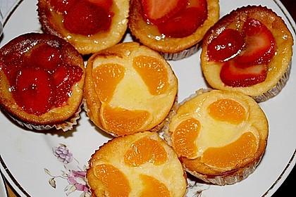 Snickers Käsekuchen Muffins 29
