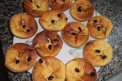 Snickers Käsekuchen Muffins 54