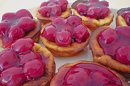 Snickers Käsekuchen Muffins 77
