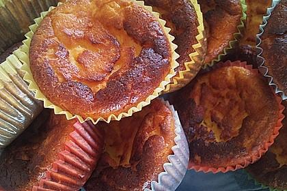 Snickers Käsekuchen Muffins 96