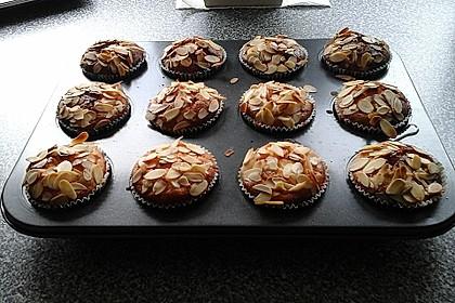 Snickers Käsekuchen Muffins 16