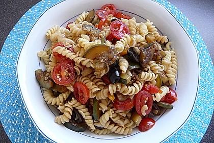 Nudelsalat mediterran 0