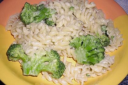 Brokkoli - Nudeln in Gorgonzola - Käse - Sauce 2