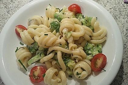 Brokkoli - Nudeln in Gorgonzola - Käse - Sauce 1