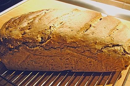 Käferblaus Oliven - Walnuss - Brot 2