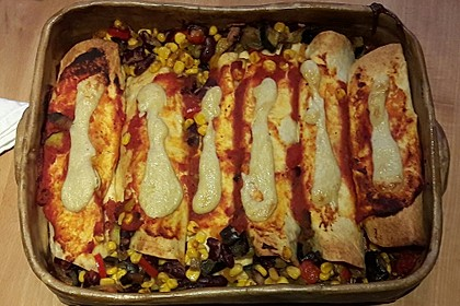 Enchilada verdura 38