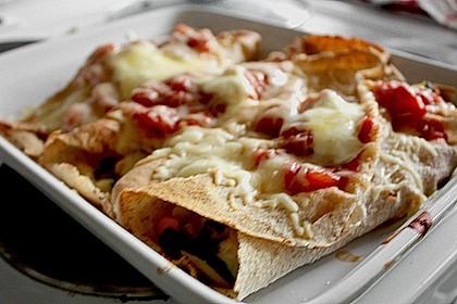 Enchilada verdura 106