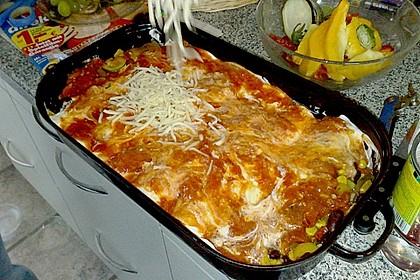 Enchilada verdura 100