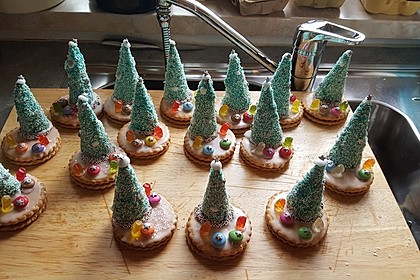 Weihnachtsbäumchen zum Essen 64