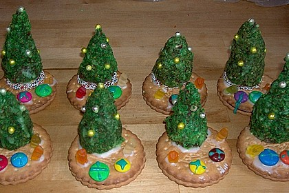 Weihnachtsbäumchen zum Essen 185