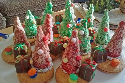 Weihnachtsbäumchen zum Essen 201