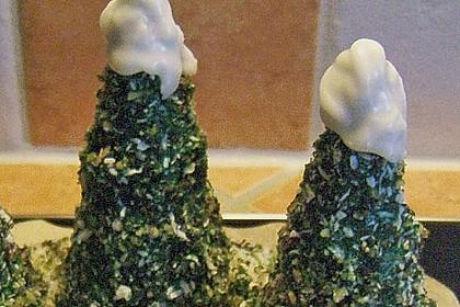 Weihnachtsbäumchen zum Essen 197