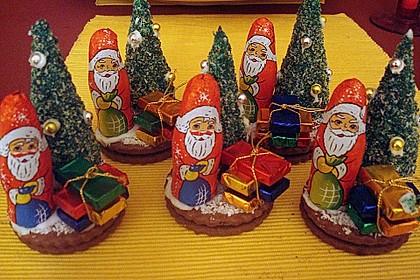 Weihnachtsbäumchen zum Essen 44