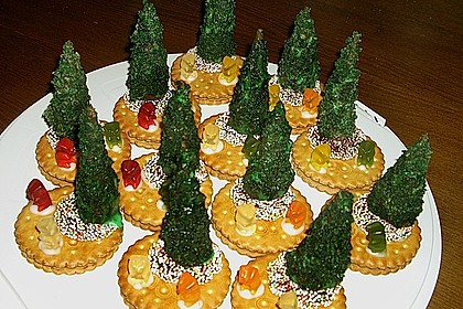 Weihnachtsbäumchen zum Essen 148