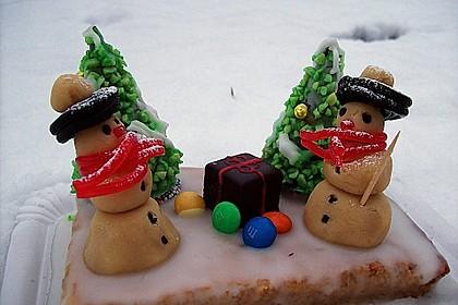 Weihnachtsbäumchen zum Essen 17