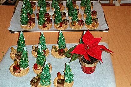 Weihnachtsbäumchen zum Essen 51