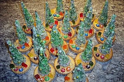 Weihnachtsbäumchen zum Essen 81