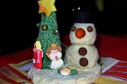 Weihnachtsbäumchen zum Essen 125