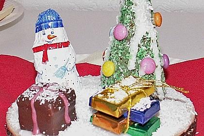 Weihnachtsbäumchen zum Essen 170