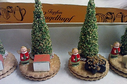 Weihnachtsbäumchen zum Essen 34
