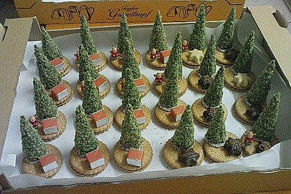 Weihnachtsbäumchen zum Essen 57