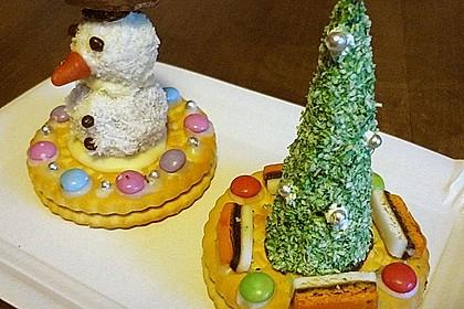 Weihnachtsbäumchen zum Essen 37