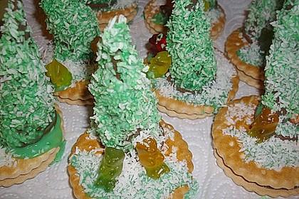 Weihnachtsbäumchen zum Essen 160