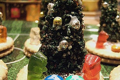 Weihnachtsbäumchen zum Essen 87