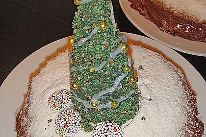Weihnachtsbäumchen zum Essen 89