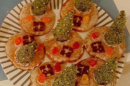 Weihnachtsbäumchen zum Essen 183