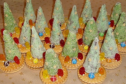 Weihnachtsbäumchen zum Essen 139